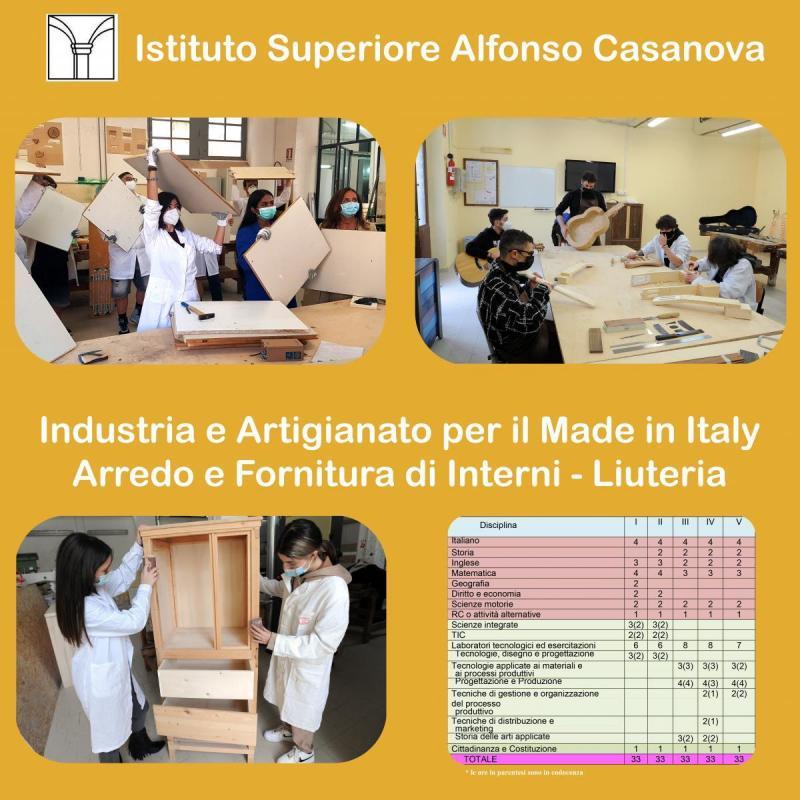 Industria e Artigianato per il Made in Italy Arredo e Fornitura di Interni - Liuteria