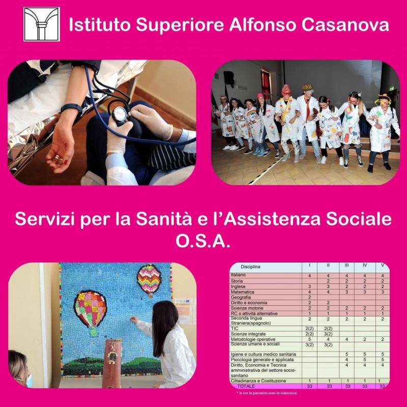 Servizi per la Sanità e l'Assistenza Sociale OSA